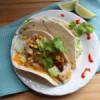 Easy Fish Tacos with Cheesy Crispy Tortilla Shells