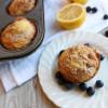 Lemon Blueberry Crumb Muffins