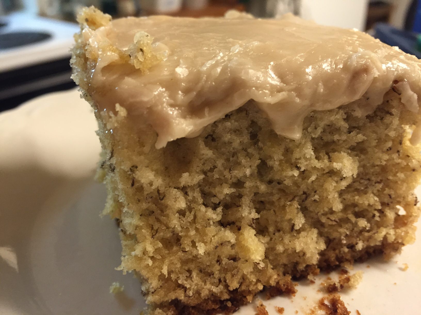 Banana Coconut Coffee Cake Recipe