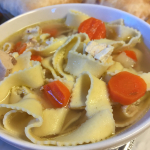 Classic Chicken Noodle Soup with Vegetables