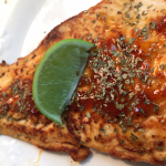 Spicy Lime Salmon