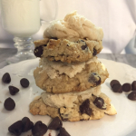 Mascarpone Chocolate Chip Cookies with Cookie Dough Frosting