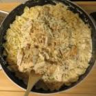 Bowtie Chicken Alfredo