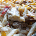 Cheesy Penne & Sausage