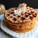 Crispy Yet Fluffy Pumpkin Waffles