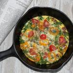Baked Parmesan Kale Frittata