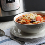 Pasta E Fagioli Soup (Instant Pot or Slow Cooker)